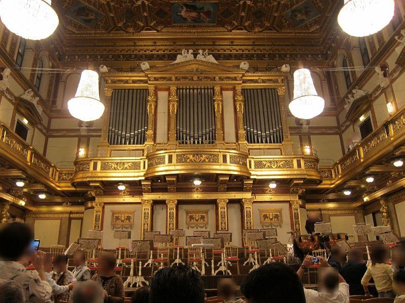 オーストリア ウィーン ウィーン楽友協会ホール2