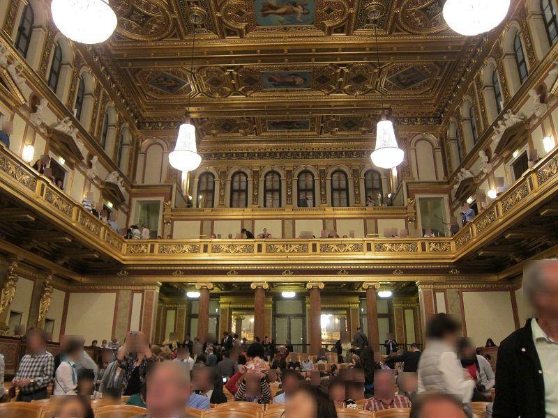 オーストリア ウィーン ウィーン楽友協会ホール3