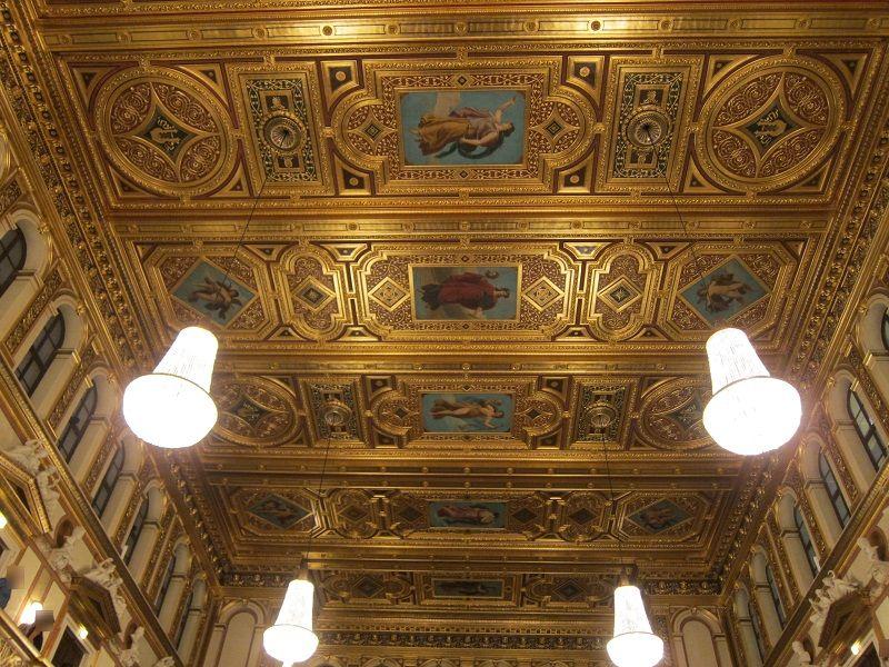 オーストリア ウィーン ウィーン楽友協会ホール4