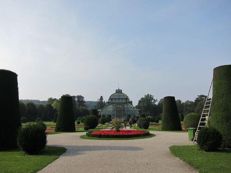 オーストリア ウィーン シェーンブルン宮殿 庭園1
