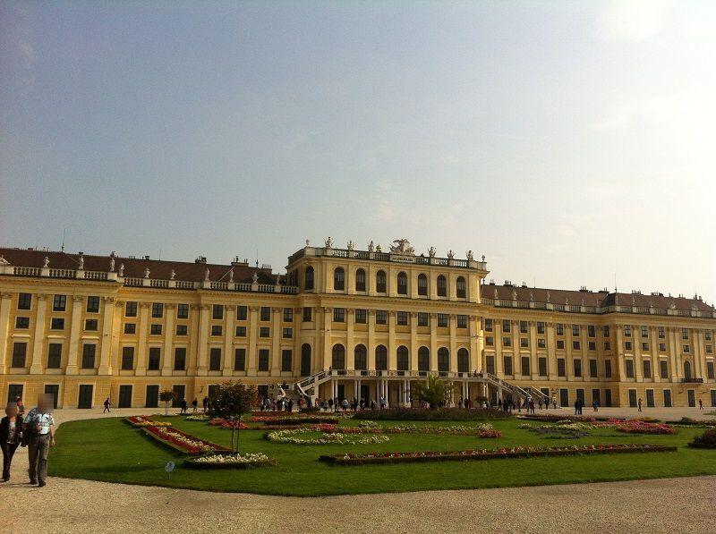 オーストリア ウィーン シェーンブルン宮殿1