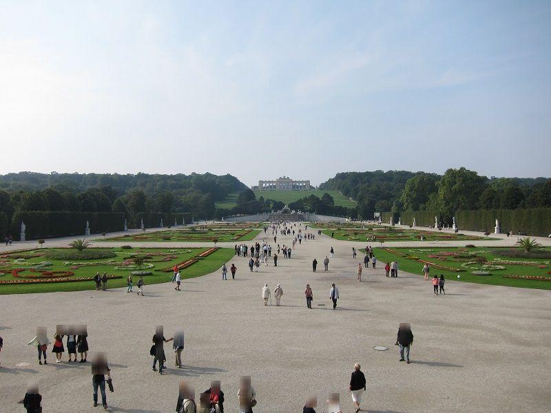オーストリア ウィーン シェーンブルン宮殿 庭園3