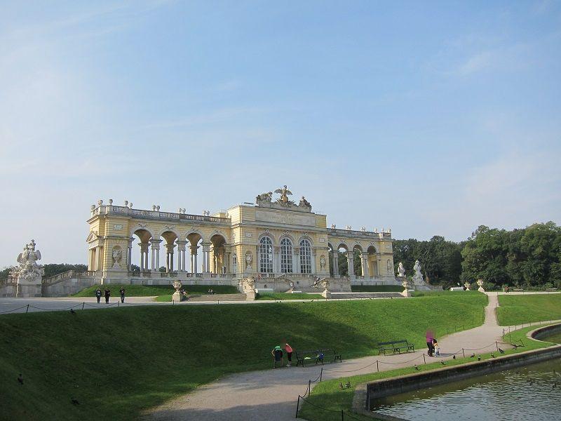 オーストリア ウィーン シェーンブルン宮殿 グロリエッテ