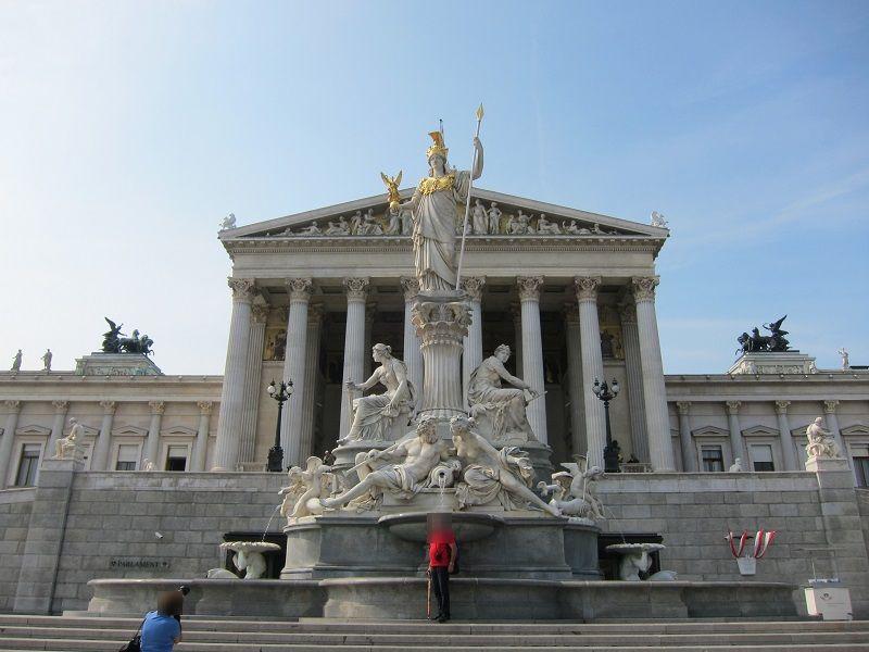 オーストリア ウィーン オーストリア国会議事堂