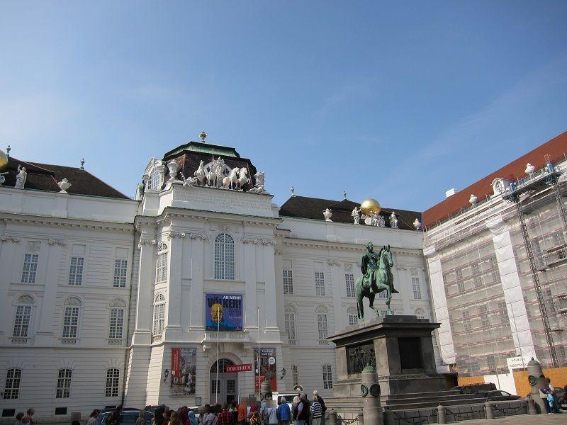 オーストリア ウィーン ホーフブルク宮殿(王宮)2