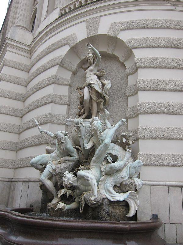 オーストリア ウィーン ホーフブルク宮殿(王宮)3