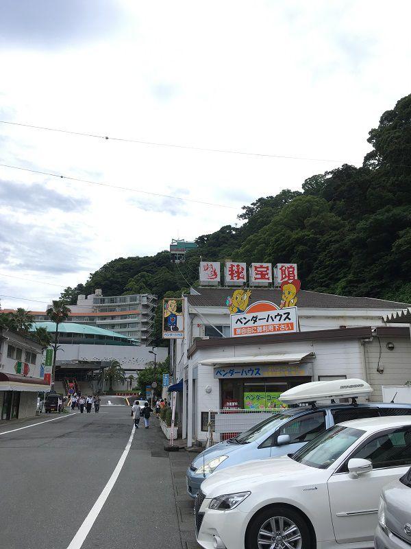 熱海秘宝館 ロープウェイ1