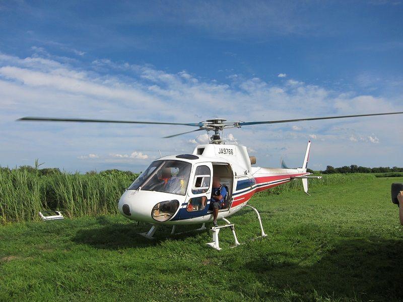 スカイダイビング3 ヘリコプター