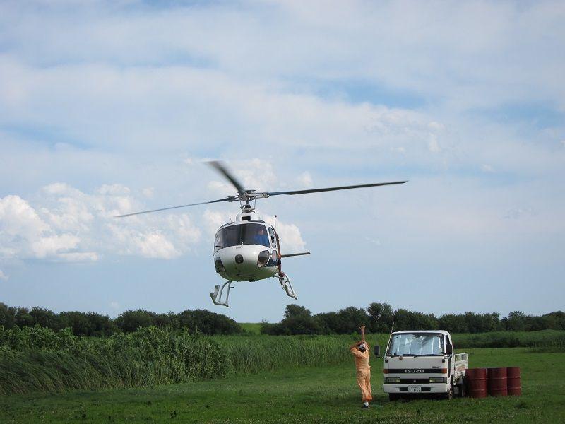 スカイダイビング4 ヘリコプター