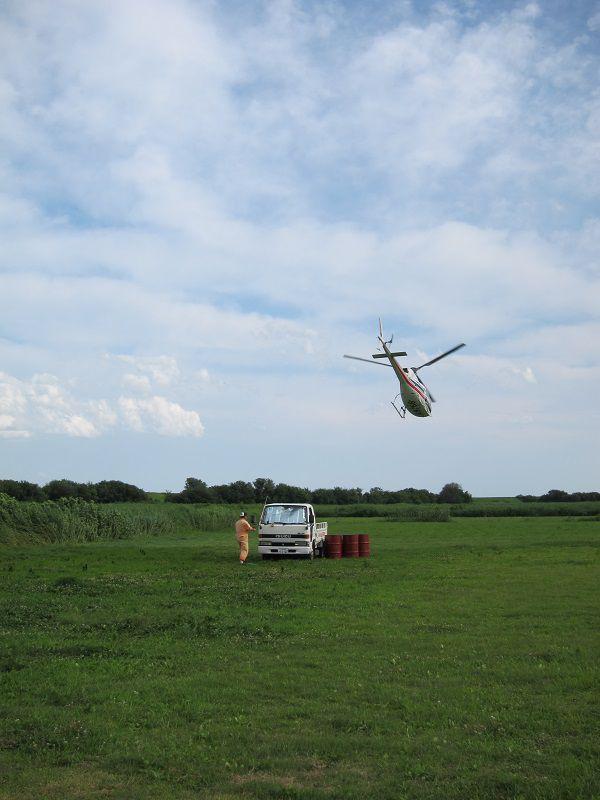 スカイダイビング5 ヘリコプター