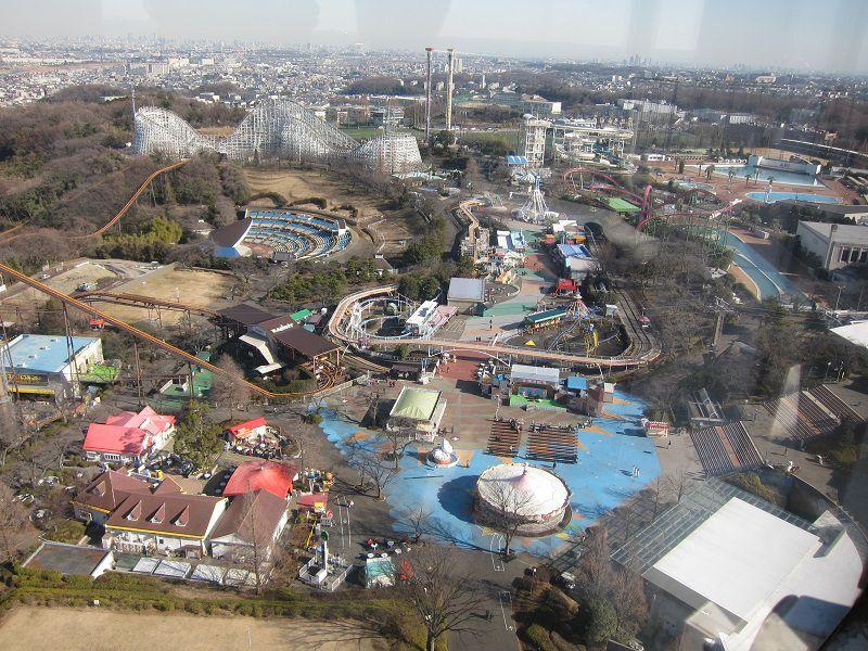 遊園地よみうりランド 観覧車からの眺め1