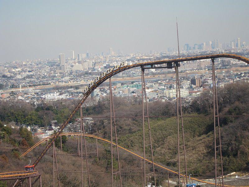 遊園地よみうりランド 観覧車からの眺め2