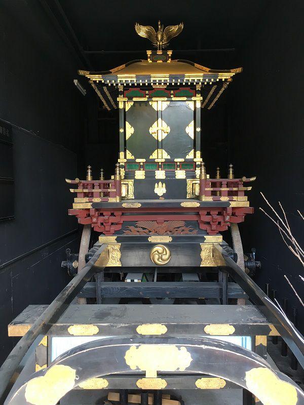 熱海 來宮神社 御鳳輦神輿