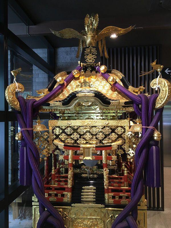 熱海 來宮神社 宮神輿