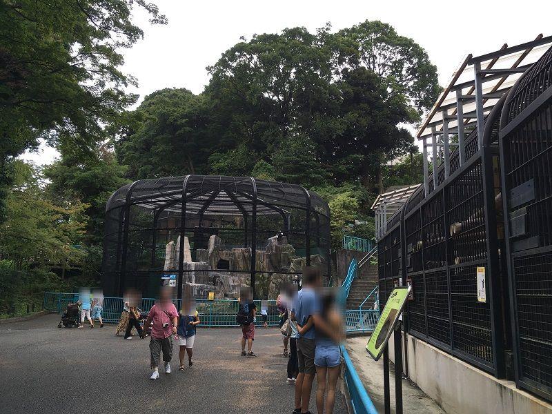 野毛山動物園 園内の様子