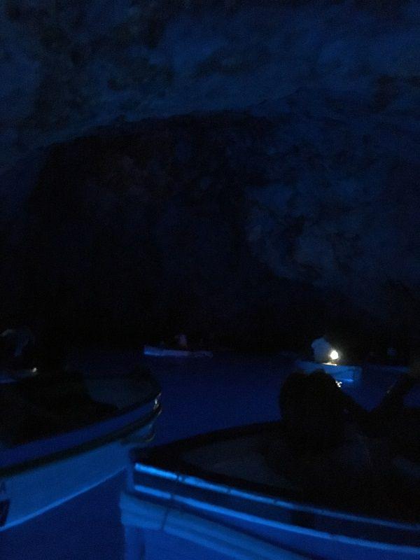イタリア カプリ島 青の洞窟5