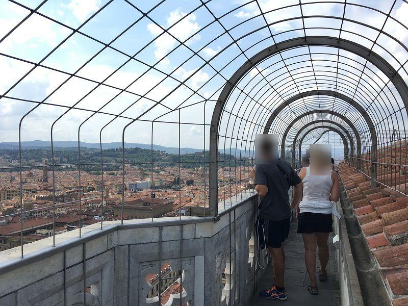 イタリア フィレンツェ ドゥオーモ ジョットの鐘楼 見晴台