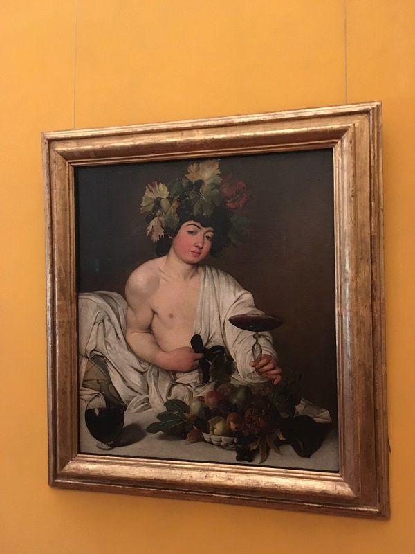 イタリア フィレンツェ ウフィツィ美術館 バッカス