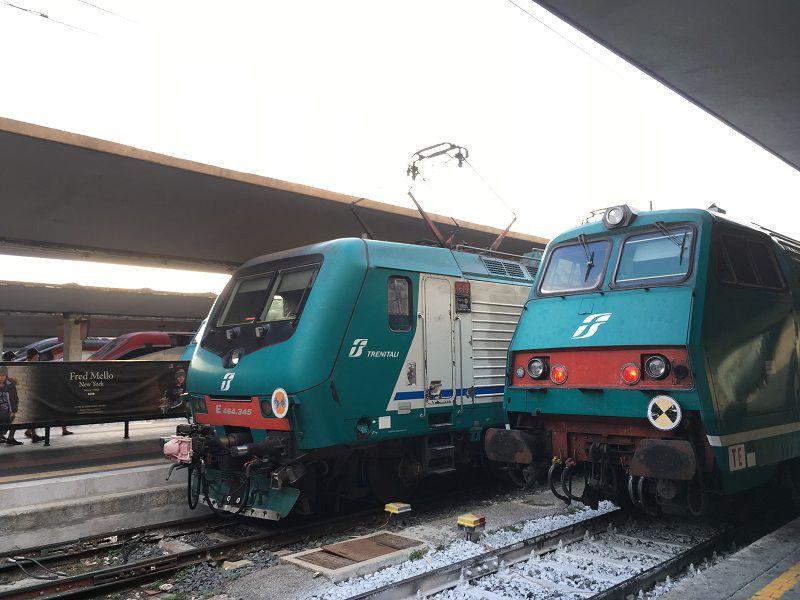 イタリア フィレンツェ 列車