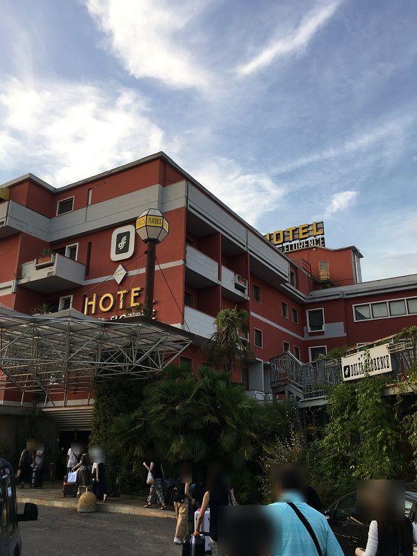 イタリア フィレンツェ ホテル デルタ フローレンス(Hotel Delta Florence)1