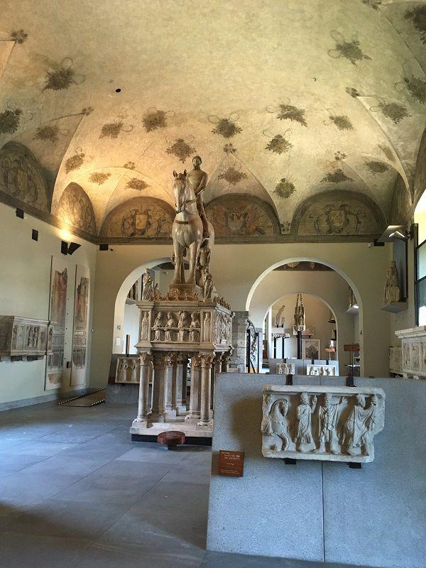 イタリア ミラノ スフォルツェスコ城 博物館1