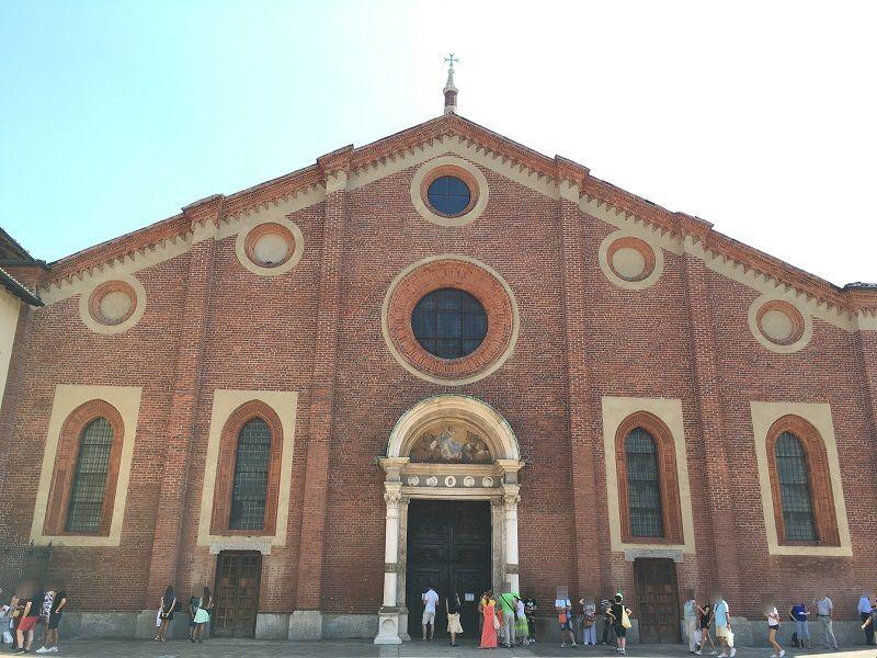 イタリア ミラノ サンタ・マリア・デッレ・グラツィエ教会1