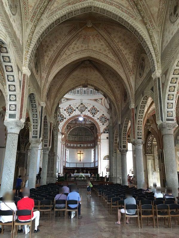 イタリア ミラノ サンタ・マリア・デッレ・グラツィエ教会2