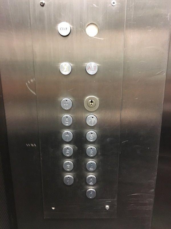イタリア ミラノ アタホテル リパモンティ(Ata Hotel Ripamonti Residence) エレベーター