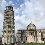 男一人でピサの斜塔(イタリア)に海外旅行してきた