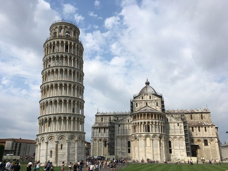 イタリア ピサの斜塔とドゥオーモ