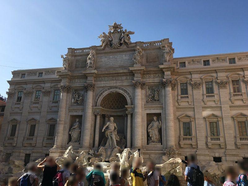 イタリア ローマ トレヴィの泉1