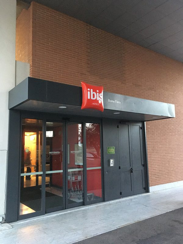 イタリア ローマ ホテル イビス ローマ フィエラ(Ibis Roma Fiera)1