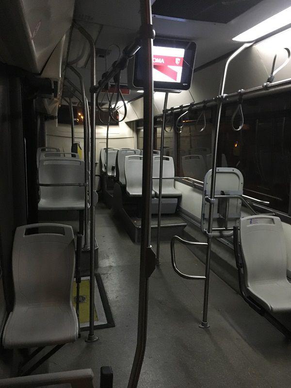 イタリア ローマ バス 早朝