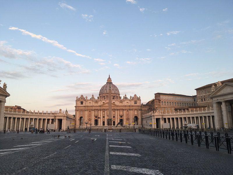 イタリア ローマ バチカン市国 サン・ピエトロ大聖堂2