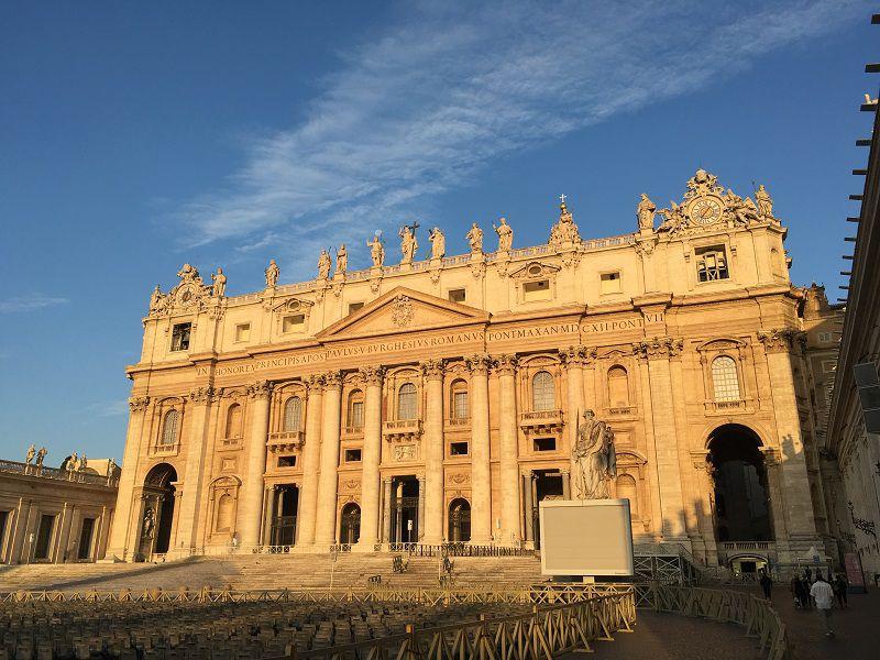 イタリア ローマ バチカン市国 サン・ピエトロ大聖堂4