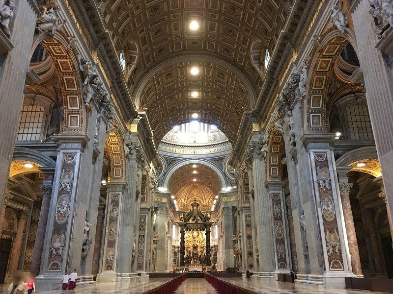 イタリア ローマ バチカン市国 サン・ピエトロ大聖堂5