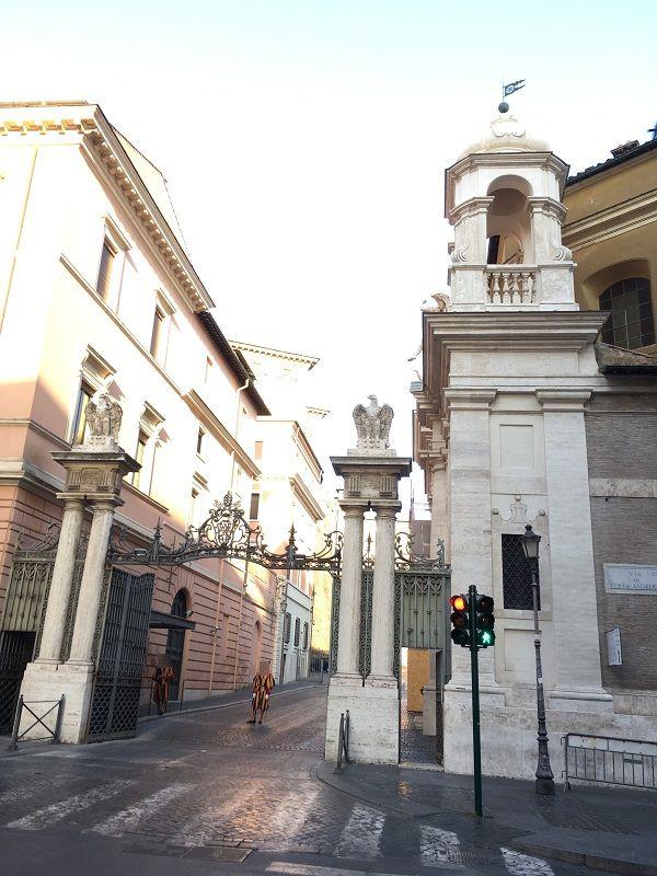 イタリア ローマ バチカン市国の関係者