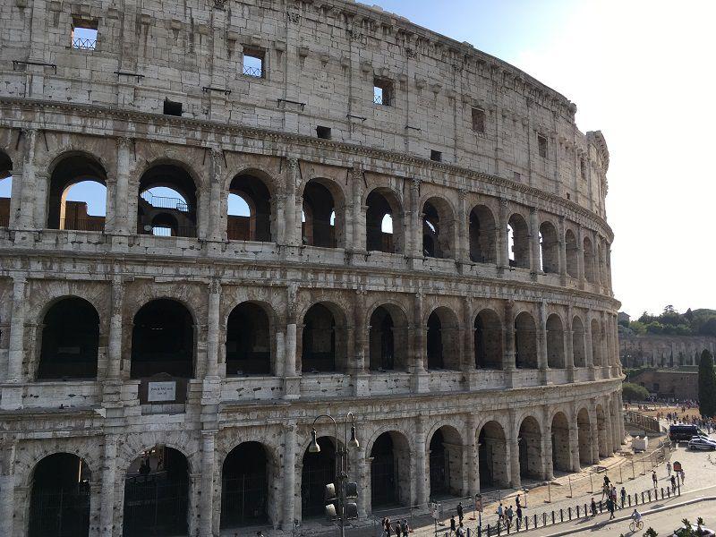 イタリア ローマ コロッセオ 外観1