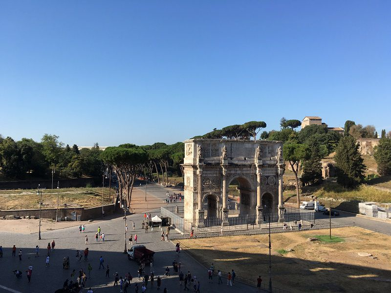イタリア ローマ コンスタンティヌスの凱旋門
