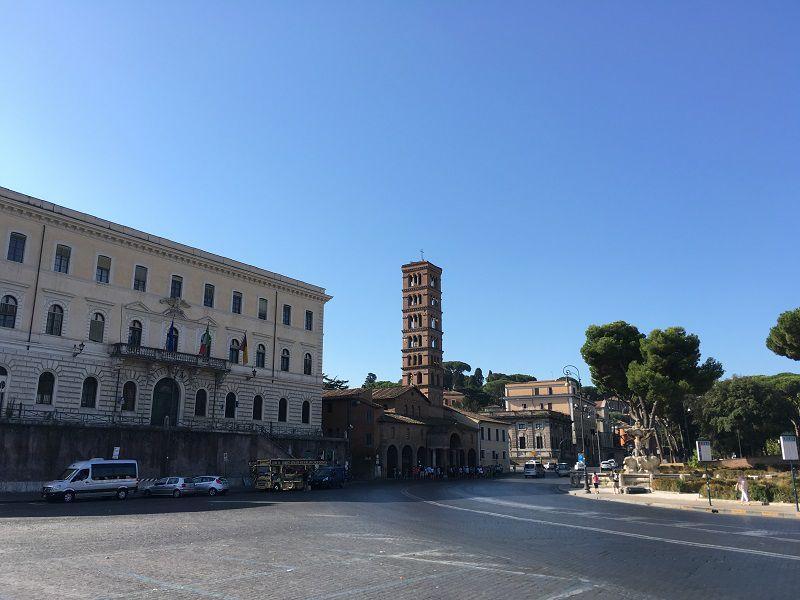 イタリア ローマ サンタ・マリア・イン・コスメディン教会