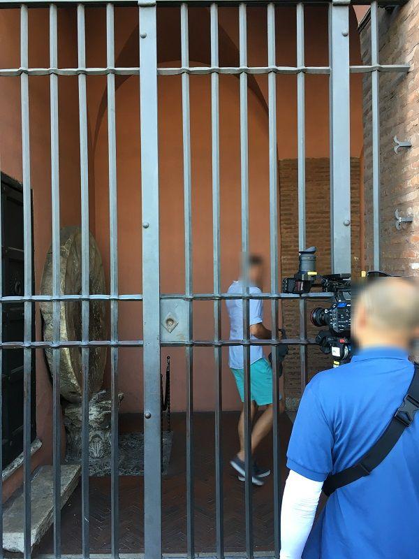 イタリア ローマ カメラ撮影