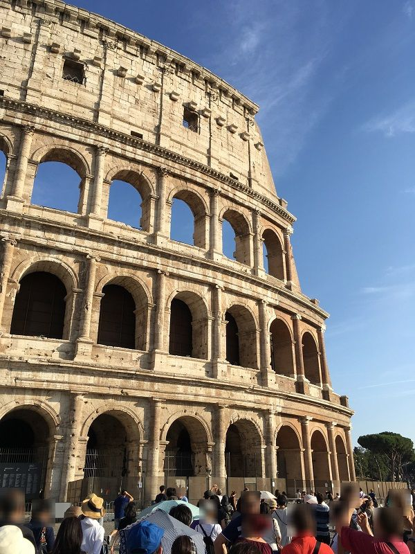 イタリア ローマ コロッセオ 外観2