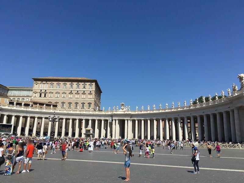イタリア ローマ バチカン市国 ミサ2
