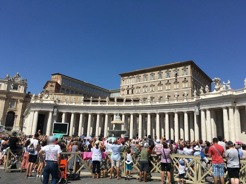 イタリア ローマ バチカン市国 ミサ4