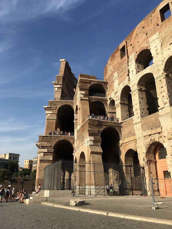イタリア ローマ コロッセオ 外観3