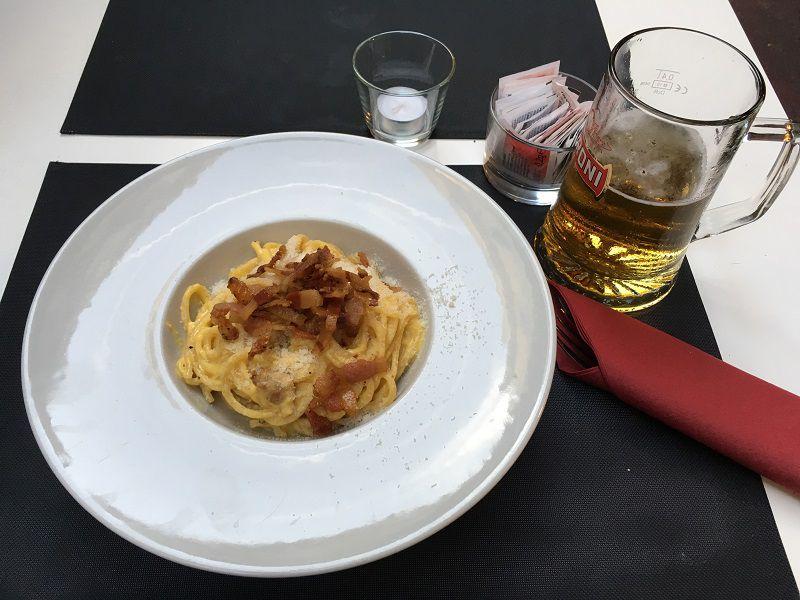 イタリア ローマ コット(Cotto Restaurant) カルボナーラ