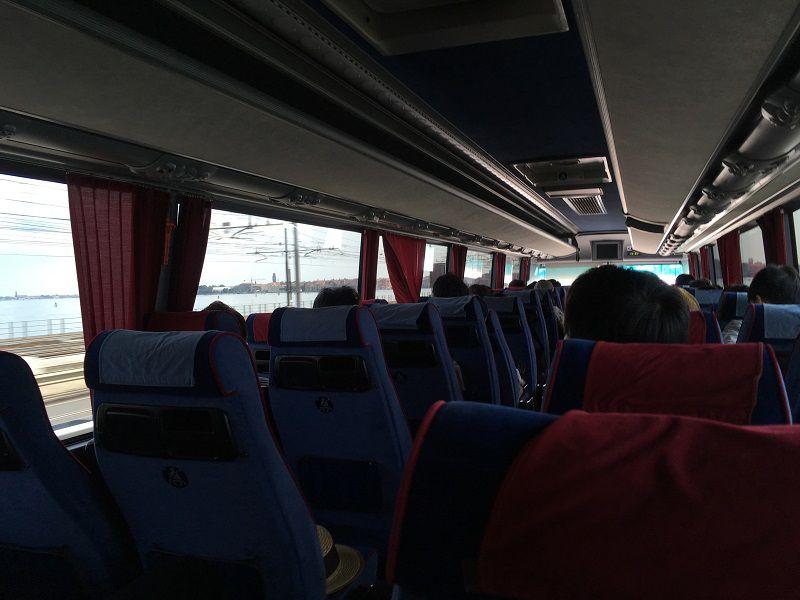 イタリア ヴェネツィア ツアーバス