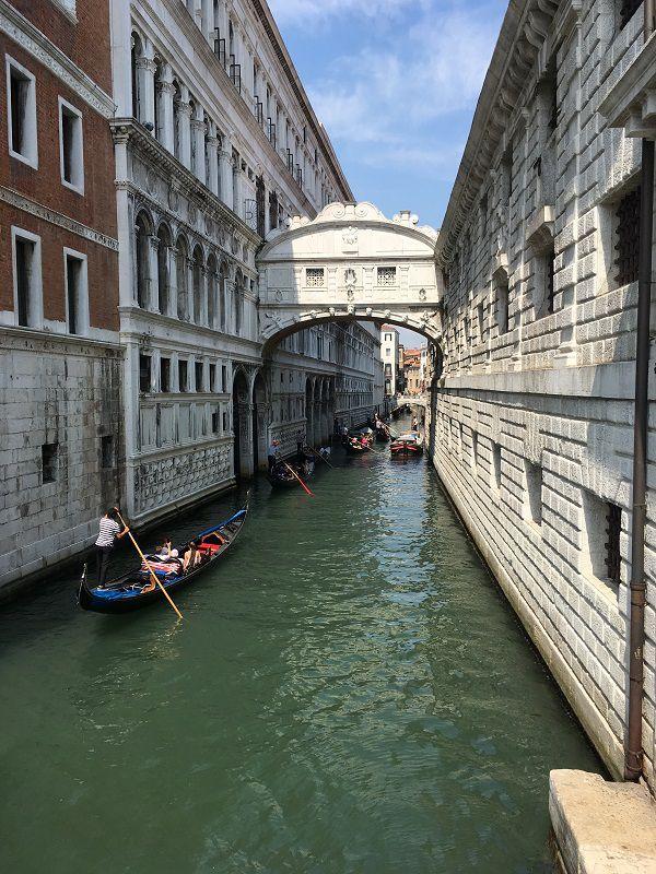 イタリア ヴェネツィア ため息橋