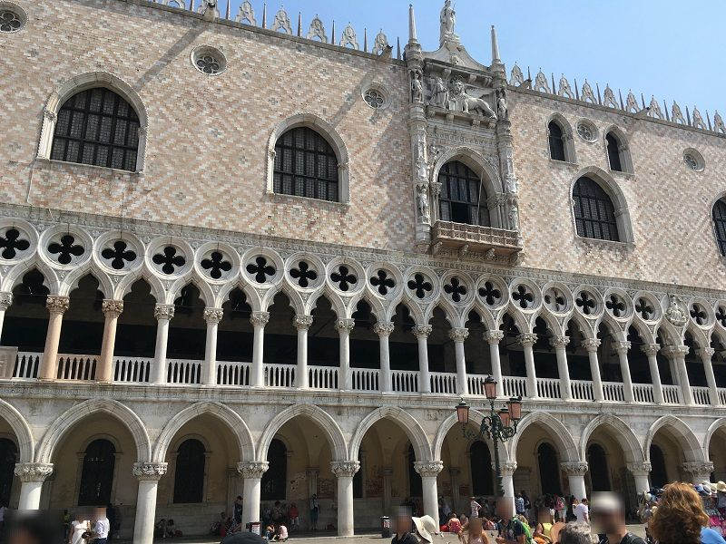 イタリア ヴェネツィア ドゥカーレ宮殿 外観