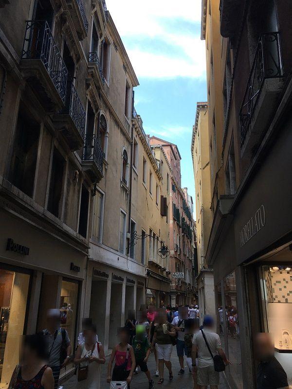 イタリア ヴェネツィア 道